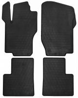 Коврики в салон для Mercedes ML-Class W164 '05-11 резиновые, черные (Stingray)