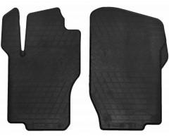Коврики в салон передние для Mercedes ML-Class W164 '05-11 резиновые, черные (Stingray)