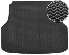 Коврик в багажник для Chevrolet Lacetti '03-12 универсал, EVA-полимерный, черный (Kinetic)