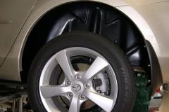 Фото 3 - Подкрылок задний левый для Mazda 3 '04-09, кроме хетчбек Sport (Novline)