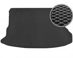 Коврик в багажник для Hyundai Tucson '03-09, EVA-полимерный, черный (Kinetic)
