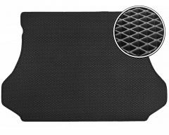 Коврик в багажник для Hyundai Santa Fe '01-06 SM, EVA-полимерный, черный (Kinetic)