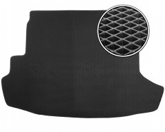 Коврик в багажник для Nissan X-Trail '08-15 (с органайзером), EVA-полимерный, черный (Kinetic)