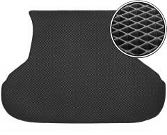 Коврик в багажник для Lada (Ваз) Priora 2170 '07- седан, EVA-полимерный, черный (Kinetic)