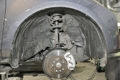 Подкрылок передний правый для Mazda CX-7 2006 - 2010 (Novline)