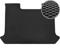 Коврик в багажник для Fiat Doblo Panorama '01-09, EVA-полимерный, черный (Kinetic)