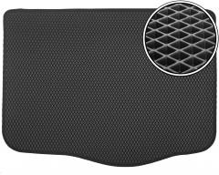Коврик в багажник для Fiat Grande Punto '05-, EVA-полимерный, черный (Kinetic)