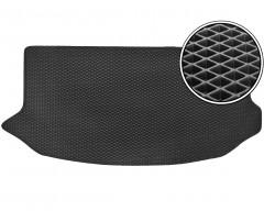 Коврик в багажник для Kia Soul '09-13 (верхний), EVA-полимерный, черный (Kinetic)