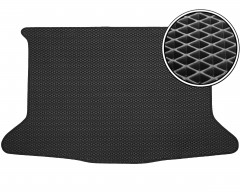 Kinetic Коврик в багажник для Suzuki SX4 '06-14 хетчбэк, EVA-полимерный, черный (Kinetic)
