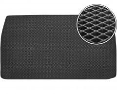 Коврик в багажник для Mitsubishi Grandis '03-11, короткий, EVA-полимерный, черный (Kinetic)