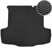 Kinetic Коврик в багажник для Fiat Linea '07-15, EVA-полимерный, черный (Kinetic)
