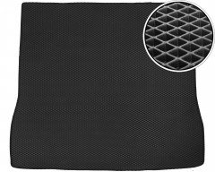 Коврик в багажник для Toyota Sequoia '08-, длинный, EVA-полимерный, черный (Kinetic)
