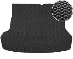 Коврик в багажник для Kia Rio '11-15 седан, EVA-полимерный, черный (Kinetic)