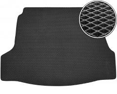 Kinetic Коврик в багажник для Hyundai i40 '12-, седан, EVA-полимерный, черный (Kinetic)