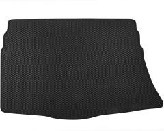 Коврик в багажник для Kia Ceed '12- хетчбэк с органайзером, EVA-полимерный, черный (Kinetic)