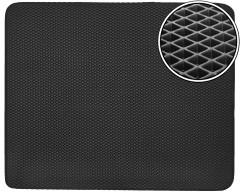Коврик в багажник для Opel Combo '12-, EVA-полимерный, черный (Kinetic)