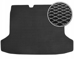 Коврик в багажник для Peugeot 508 '11- седан, EVA-полимерный, черный (Kinetic)