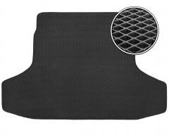 Коврик в багажник для Porsche Panamera '10-, EVA-полимерный, черный (Kinetic)
