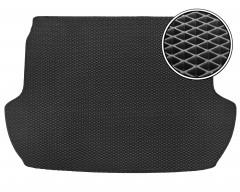 Коврик в багажник для Subaru Forester '13-18, EVA-полимерный, черный (Kinetic)