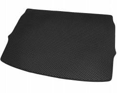 Фото 3 - Коврик в багажник для Nissan Qashqai '17-, верхняя полка, EVA-полимерный, черный (Kinetic)
