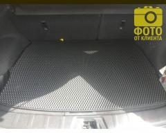 Фото 5 - Коврик в багажник для Nissan Qashqai '17-, верхняя полка, EVA-полимерный, черный (Kinetic)