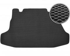 Коврик в багажник для Hyundai Coupe '02-09, EVA-полимерный, черный (Kinetic)