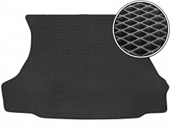 Kinetic Коврик в багажник для Lada (Ваз) 2108-2109, 2113, EVA-полимерный, черный (Kinetic)