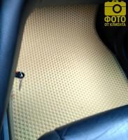 Фото 10 - Коврики в салон для Lexus RX '03-08, EVA-полимерные, бежевые (Kinetic)