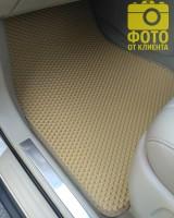 Фото 13 - Коврики в салон для Lexus RX '03-08, EVA-полимерные, бежевые (Kinetic)