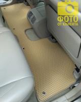 Фото 14 - Коврики в салон для Lexus RX '03-08, EVA-полимерные, бежевые (Kinetic)
