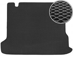 Коврик в багажник для Toyota LC Prado 150 '18- 5 мест, EVA-полимерный, черный (Kinetic)
