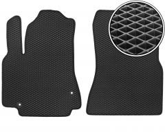 Коврики в салон передние для Peugeot Partner '08-, EVA-полимерные, черные (Kinetic)