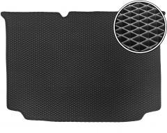 Коврик в багажник для Volkswagen Polo '09-17 хетчбек, нижний, EVA-полимерный, черный (Kinetic)