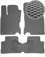 Коврики в салон для Nissan Qashqai '14-, EVA-полимерные, серые (Kinetic)