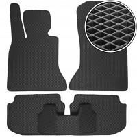Коврики в салон для BMW 5 F10 / 11 '10-13, EVA-полимерные, черные (Kinetic)