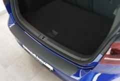 Накладка на задний бампер для Volkswagen Golf VII '12-, полиуретановая (ASP)