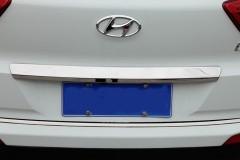 Накладка на заднюю дверь для Hyundai Creta '16-, хром (ASP)