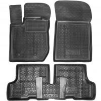 Коврики в салон для Lada (Ваз) XRAY '15- резиновые, черные (AVTO-Gumm)
