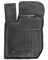 Коврик в салон водительский для Lada (Ваз) XRAY '15- резиновый, черный (AVTO-Gumm)