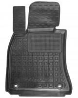 Коврик в салон водительский для Kia Stinger '17- резиновый, черный (AVTO-Gumm)