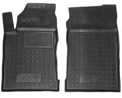 Коврики в салон передние для Peugeot 605 '88-99 резиновые, черные (AVTO-Gumm)