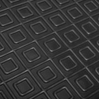 Фото 3 - Коврик в салон водительский для Opel Vectra A '88-95 резиновый, черный (AVTO-Gumm)