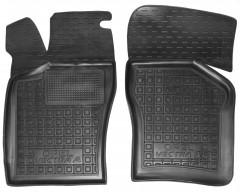 Коврики в салон передние для Opel Vectra A '88-95 резиновые, черные (AVTO-Gumm)