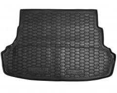 Коврик в багажник для  Hyundai Accent (Solaris) '11-17, седан, не складывающееся зад. сидение резиновый (AVTO-Gumm)