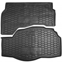 Фото 1 - Коврик в багажник для Ford Mondeo '15-, hybrid резиновый (AVTO-Gumm)