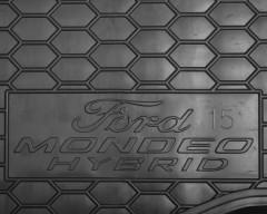 Фото 3 - Коврик в багажник для Ford Mondeo '15-, hybrid резиновый (AVTO-Gumm)