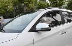 Накладки на зеркала для Hyundai Tucson '15-, хром (ASP) BHYTS153