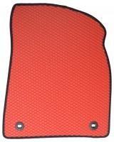 Фото 4 - Коврики в салон для Lexus RX '16-, EVA-полимерные, красные (Kinetic)