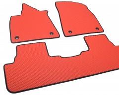 Фото 7 - Коврики в салон для Lexus RX '16-, EVA-полимерные, красные (Kinetic)
