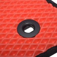 Фото 8 - Коврики в салон для Lexus RX '16-, EVA-полимерные, красные (Kinetic)